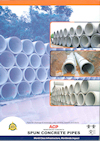 SPUN CONCRETE PIPES
